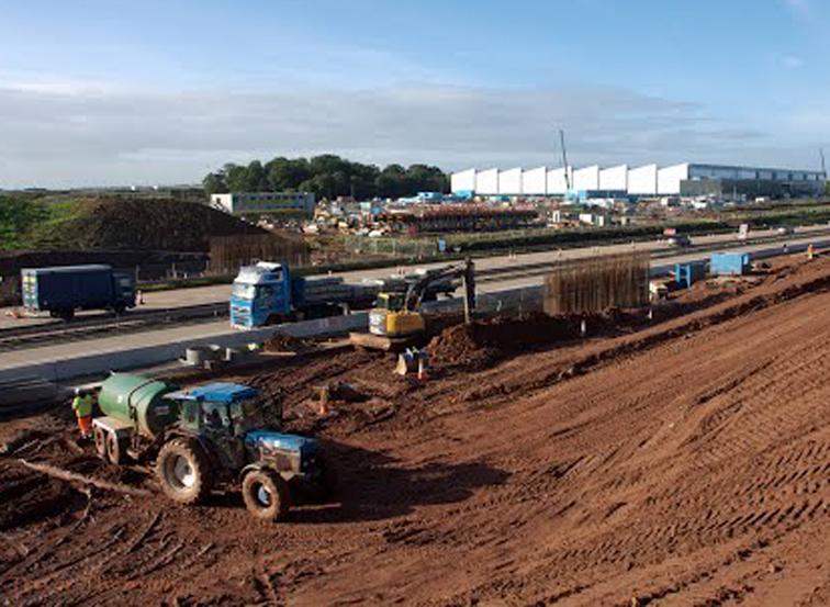 Jaguar Land Rover Plant Construction